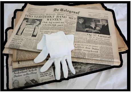 Telegraaf Archief De échte Historische Telegraaf